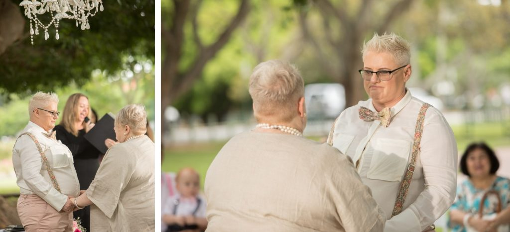 Same-Sex Wedding with Brisbane City Celebrants