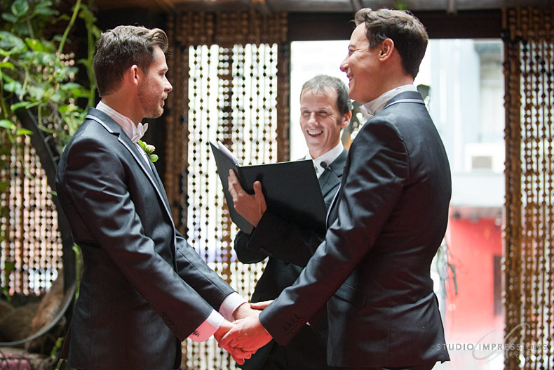 two grooms wedding Brisbane