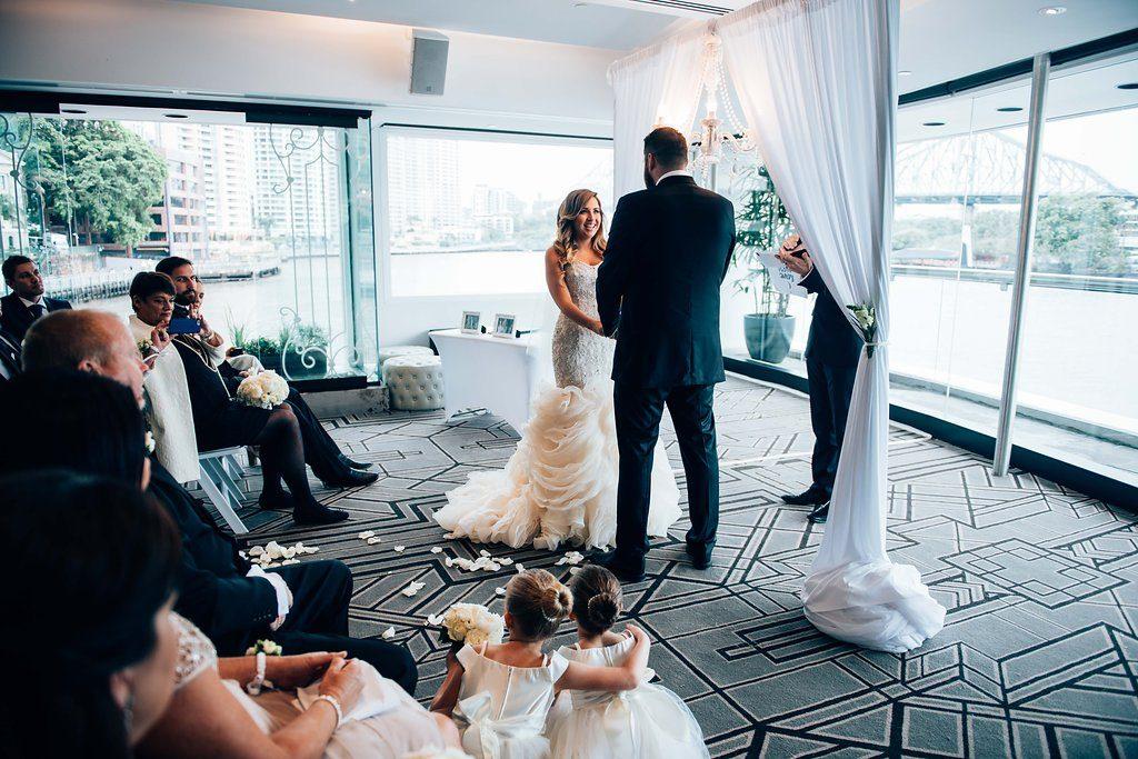 Blackbird wedding ceremony