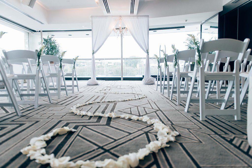 Blackbird Wedding Ceremony Decor