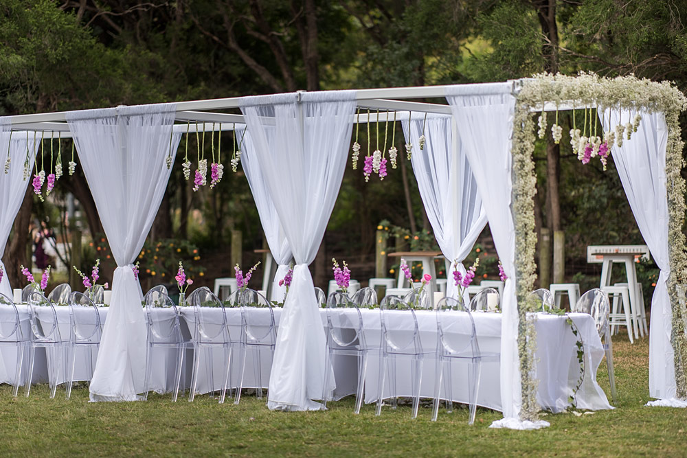 Brisbane Wedding Arbour Hire