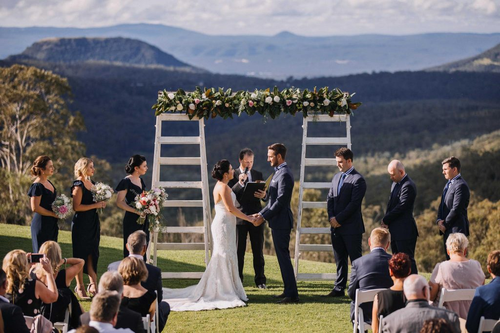 Preston Peak winery wedding