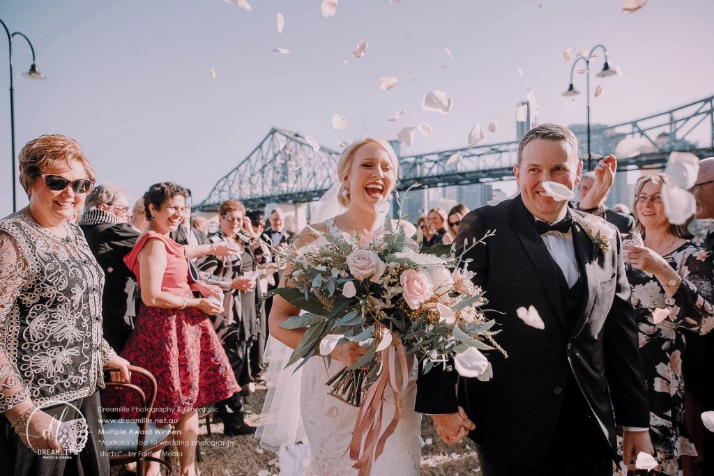 Howard Smith Wharves wedding