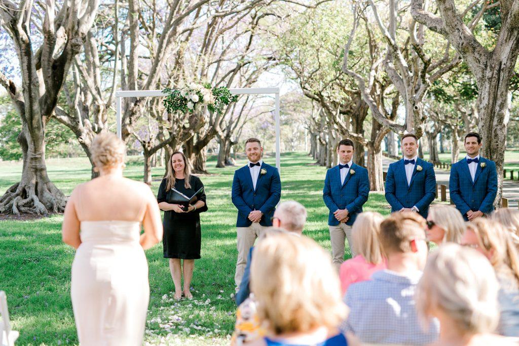 Park wedding locations Brisbane