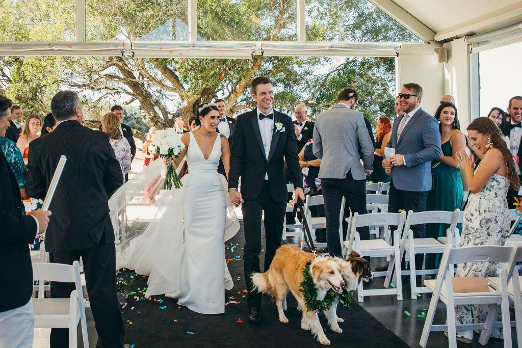 Preston peak wedding ceremony