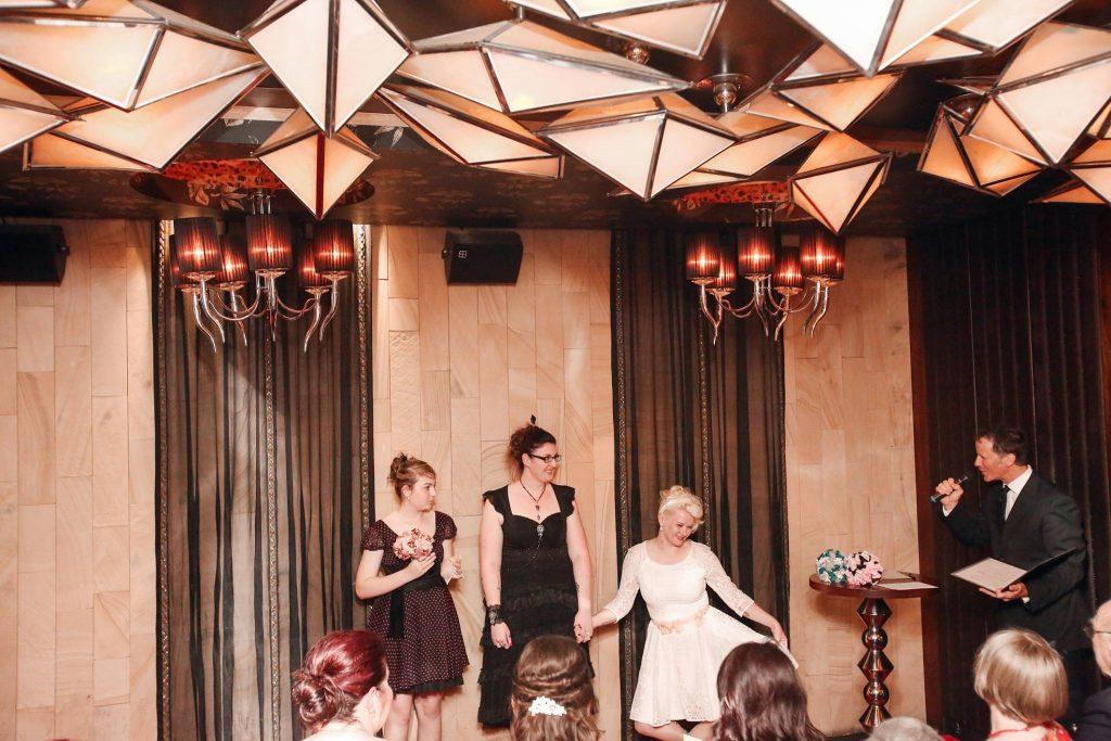 fun Brisbane wedding