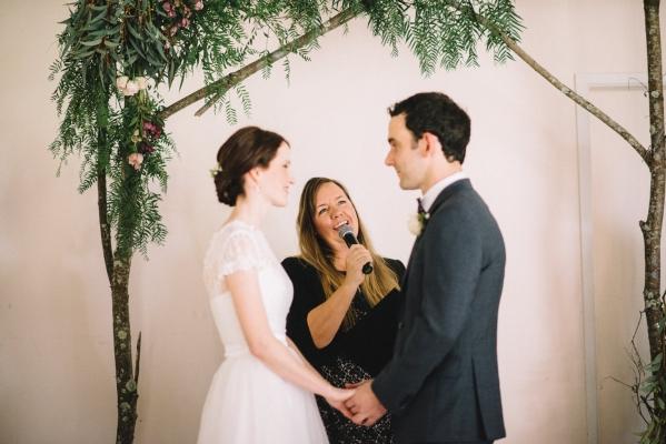 Upper Brookfied Hall wedding celebrant