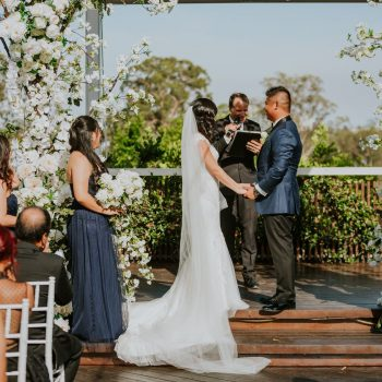 oria Park Golf wedding ceremony