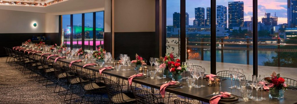 W Hotel Brisbane wedding venue