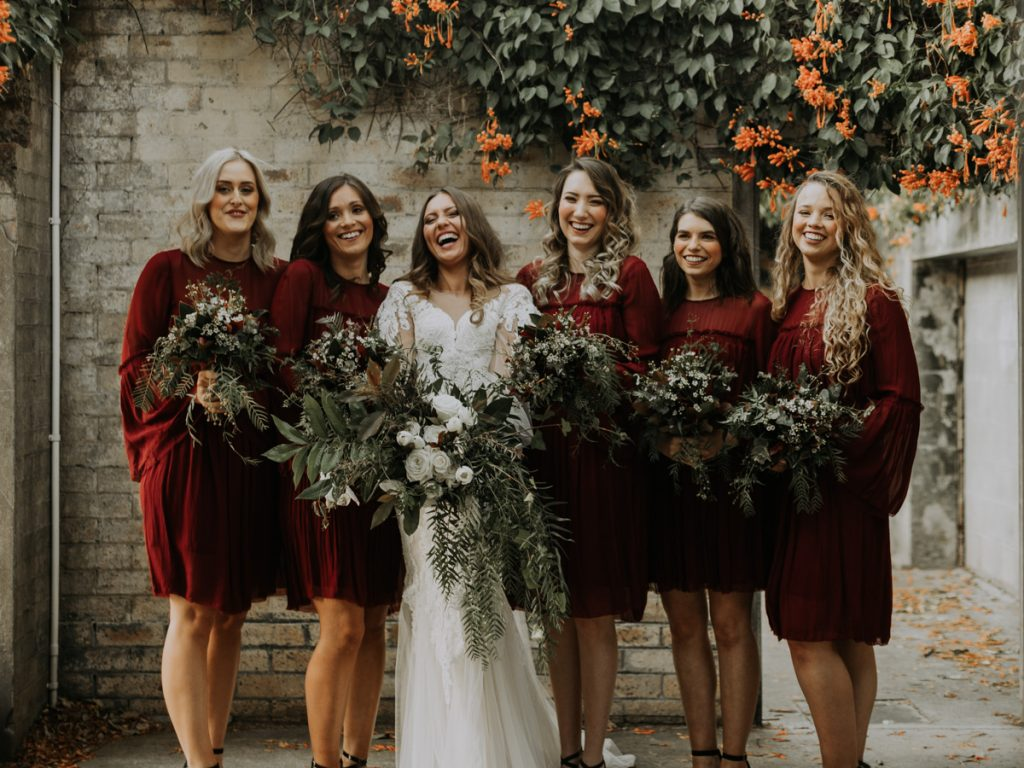 boho bridesmaids dresses