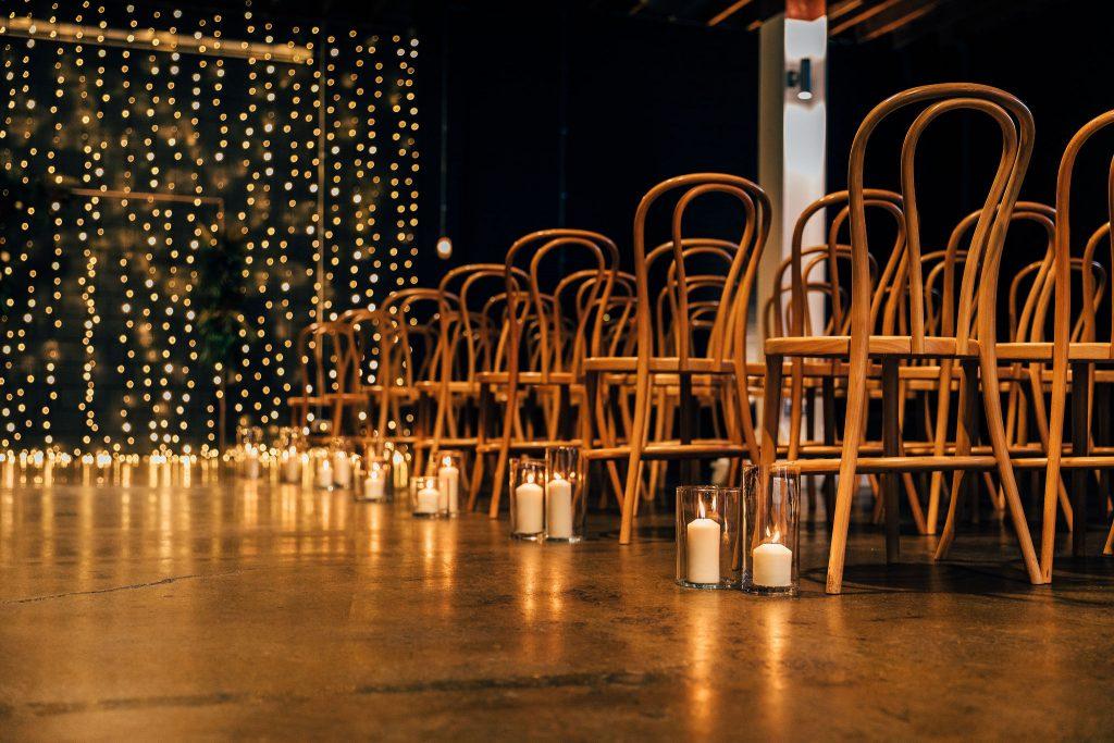Indoor wedding Brisbane