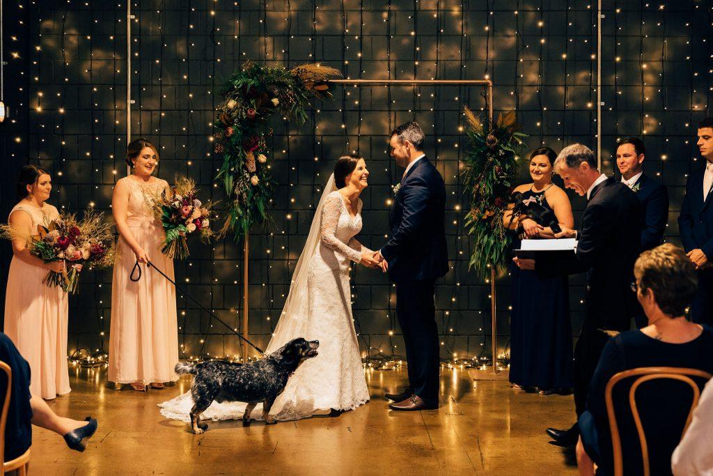 warehouse wedding in Brisbane