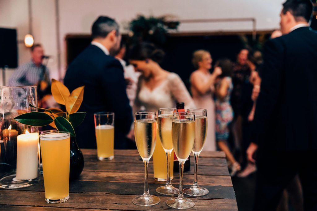 Lightspace wedding reception