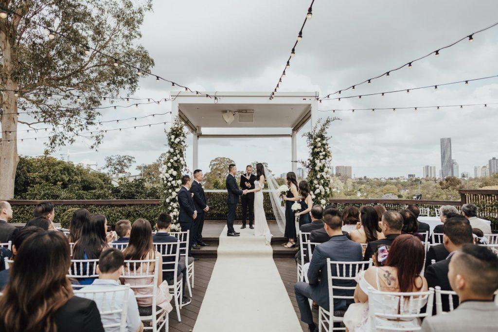Luxurious wedding ceremony Brisbane