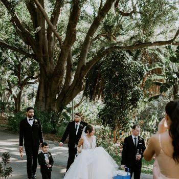 Roma Street Parkland wedding photography
