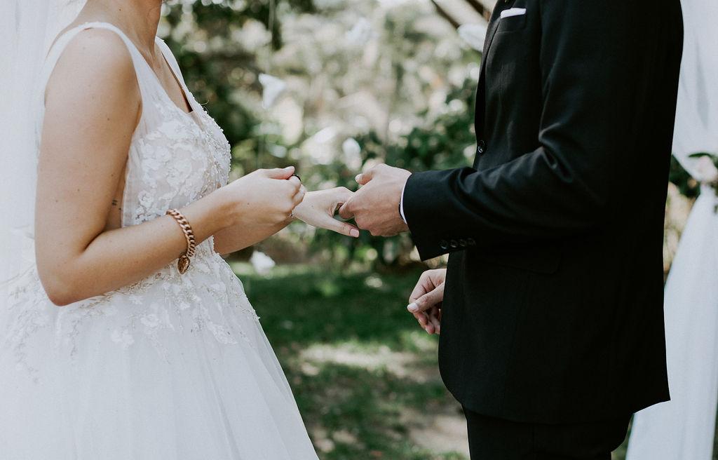 Wedding at Roma Street Park Brisbane
