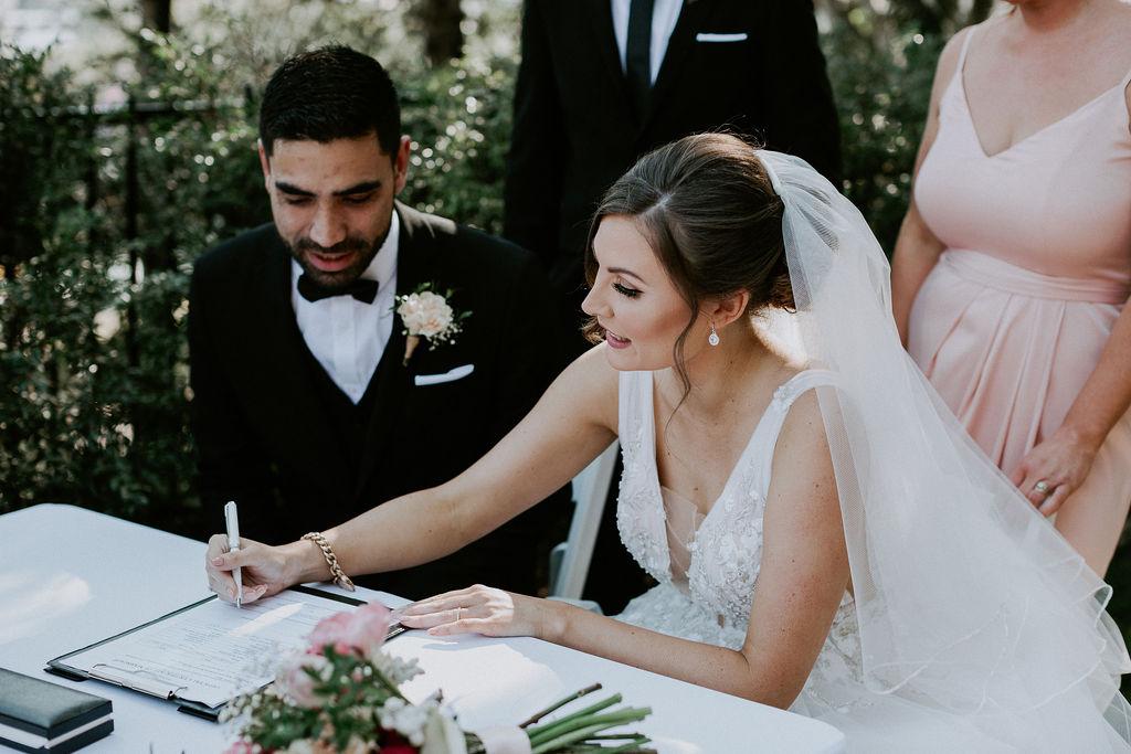 Roma Street Park wedding Celebrant