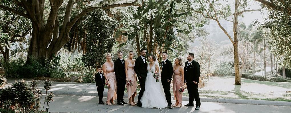 Roma Street Park Wedding