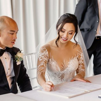 Wedding ceremony Victoria Park