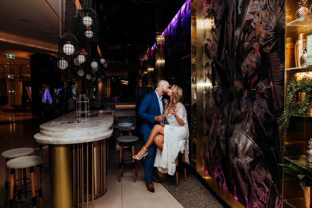 W Hotel Brisbane wedding
