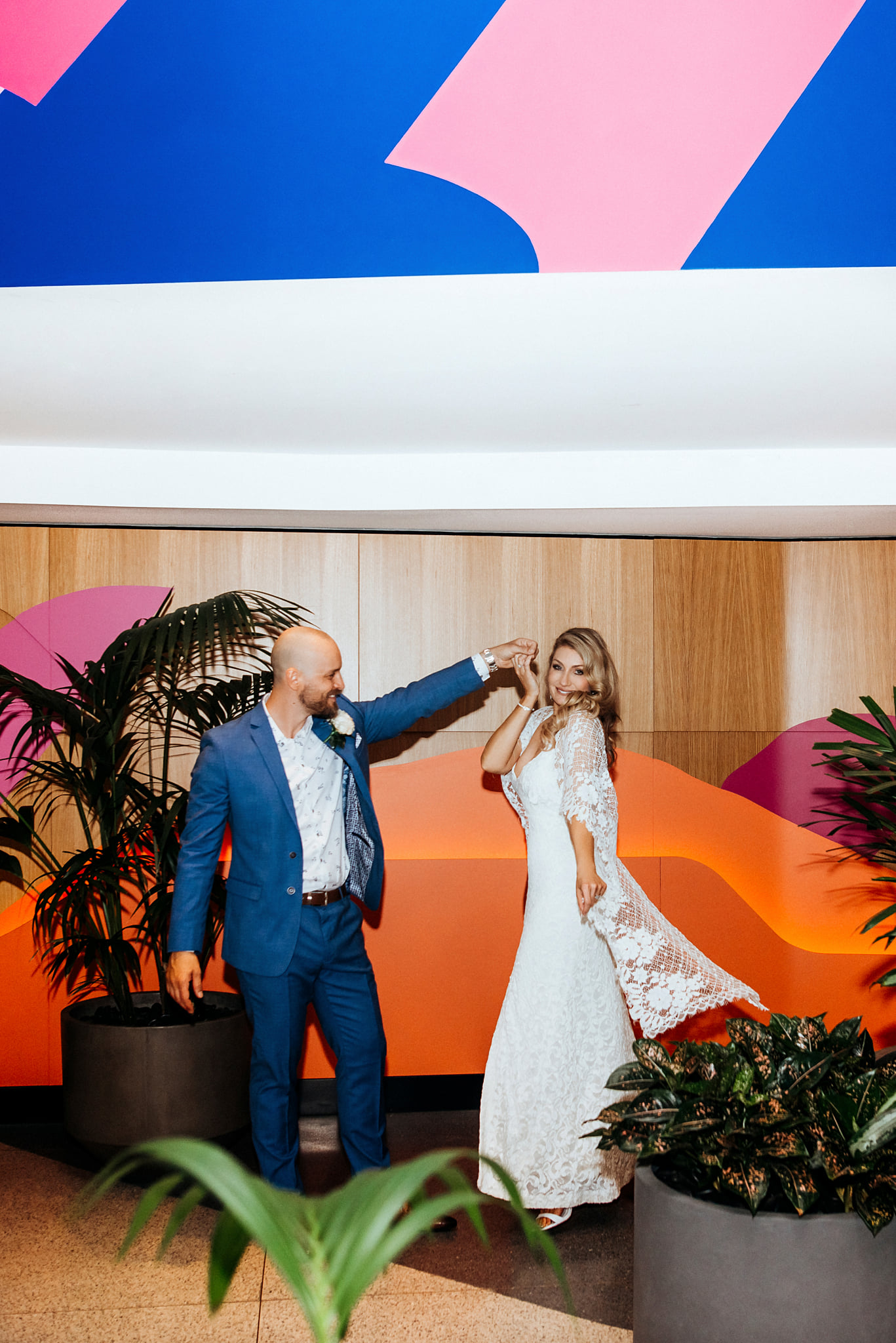 W Hotel Brisbane wedding photography