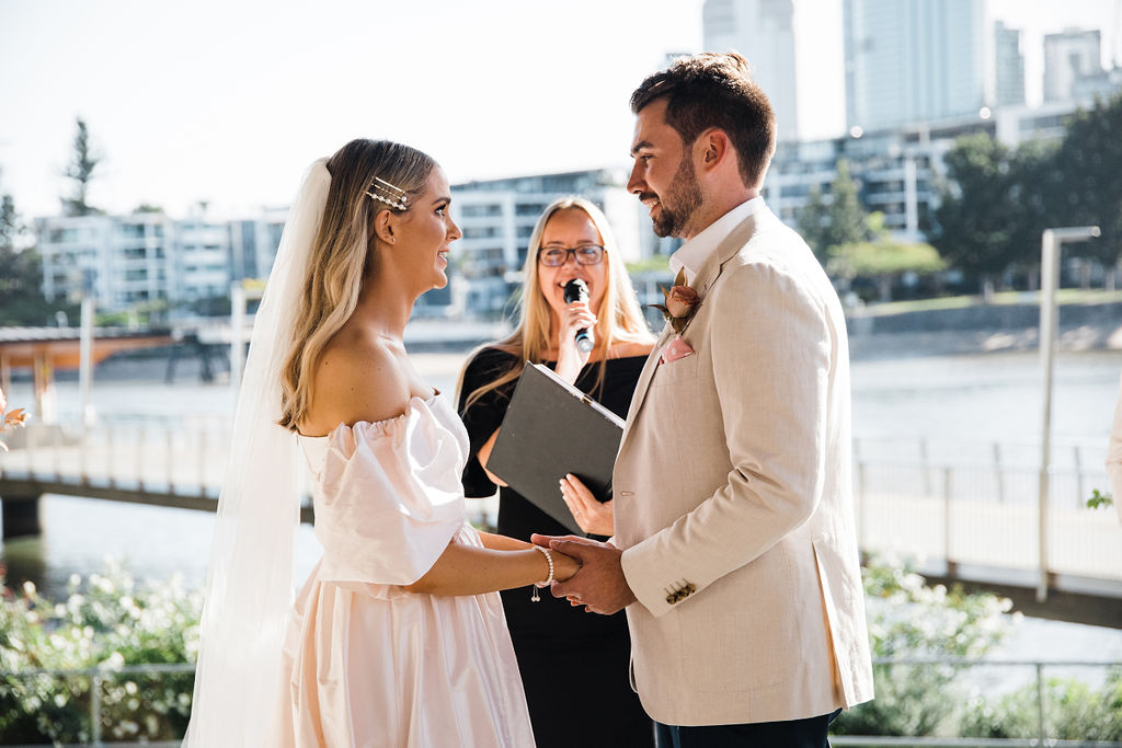Howard Smith Wharves Bougainvillea House wedding