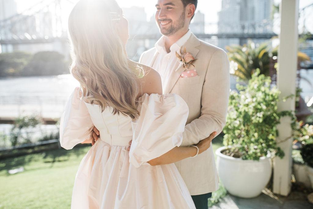 Howard Smiths Wharves photos wedding ceremony