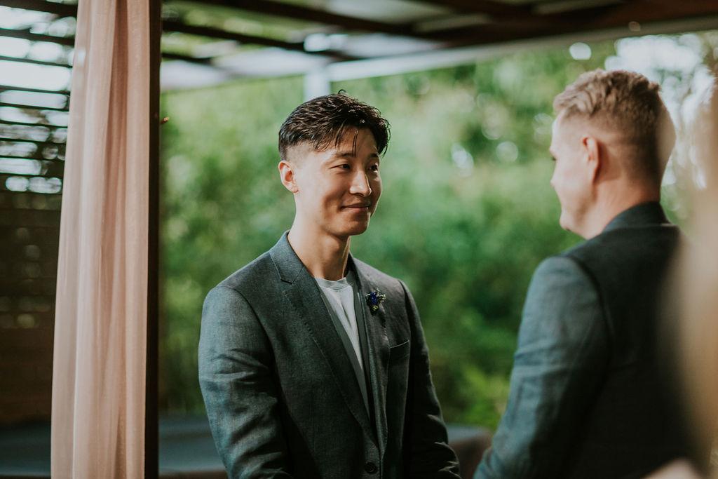 same sex legals only wedding