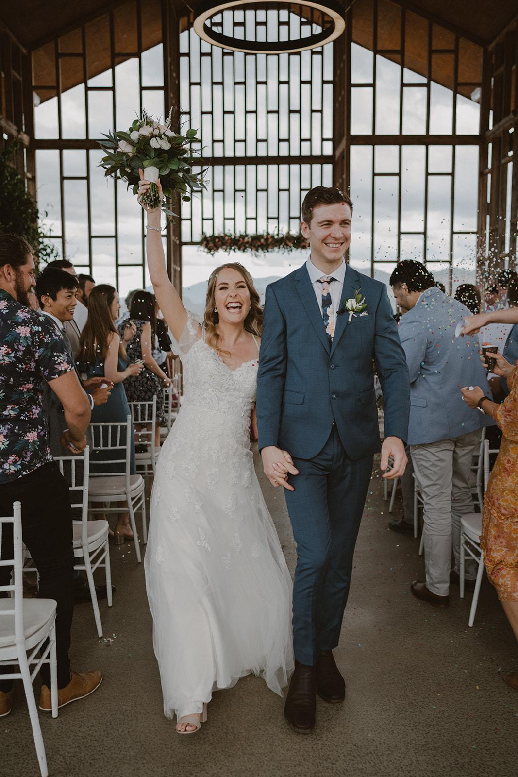 Wedding photos Kooroomba Chapel