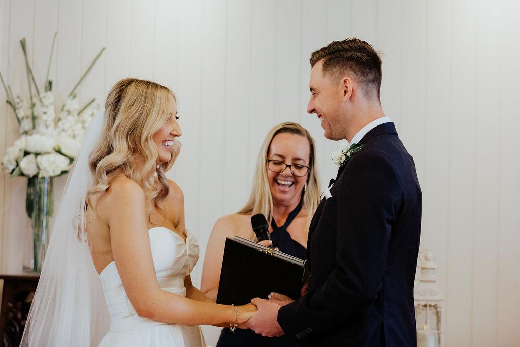 Brisbane Chapel wedding Celebrant