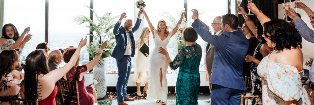 W Hotel Brisbane wedding photo