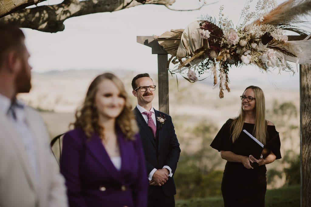 Wedding celebrant Cara Hodge