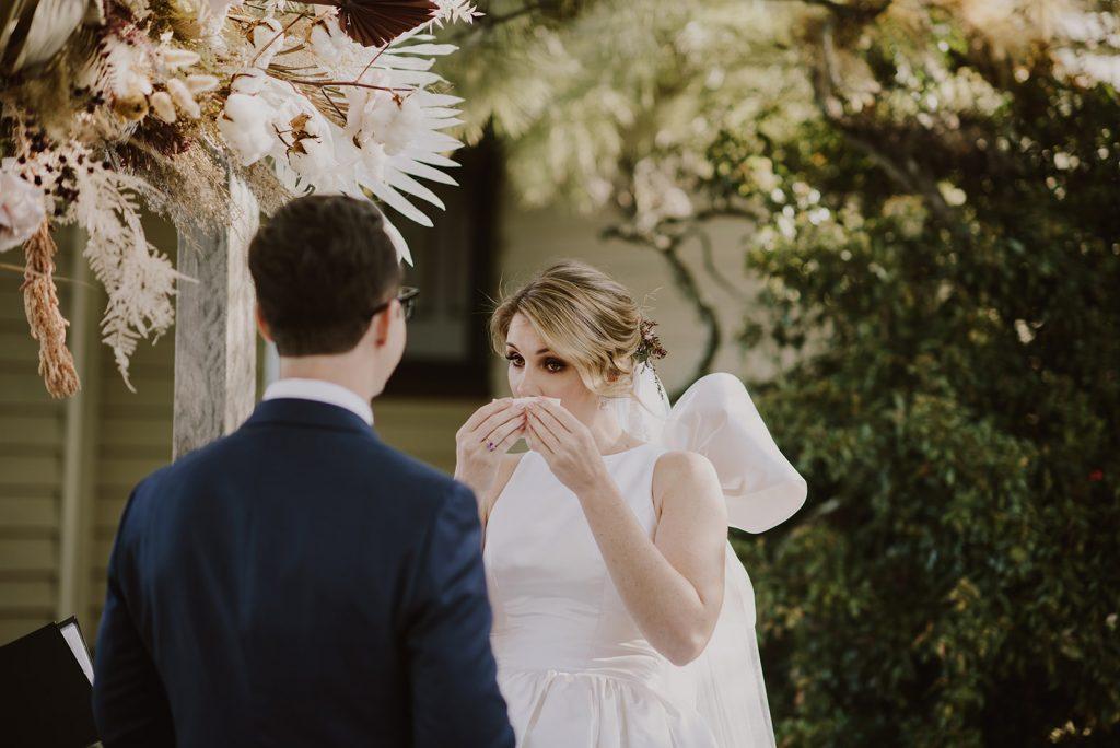 Wedding ceremony Spicers Hidden Vale