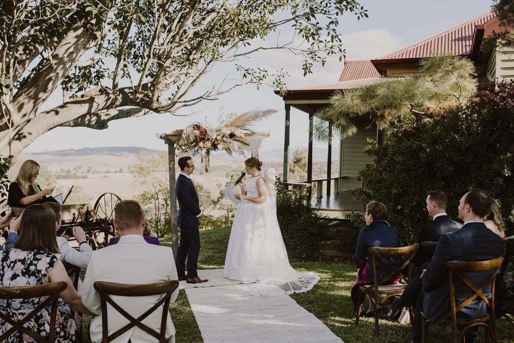 Spicers Hidden Vale Wedding Celebrant