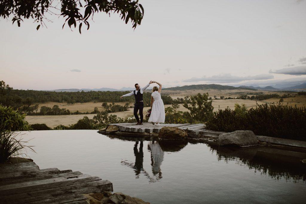 Wedding Spicers Hidden Vale