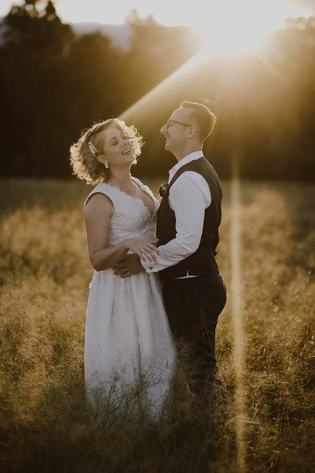 Winter wedding Queensland
