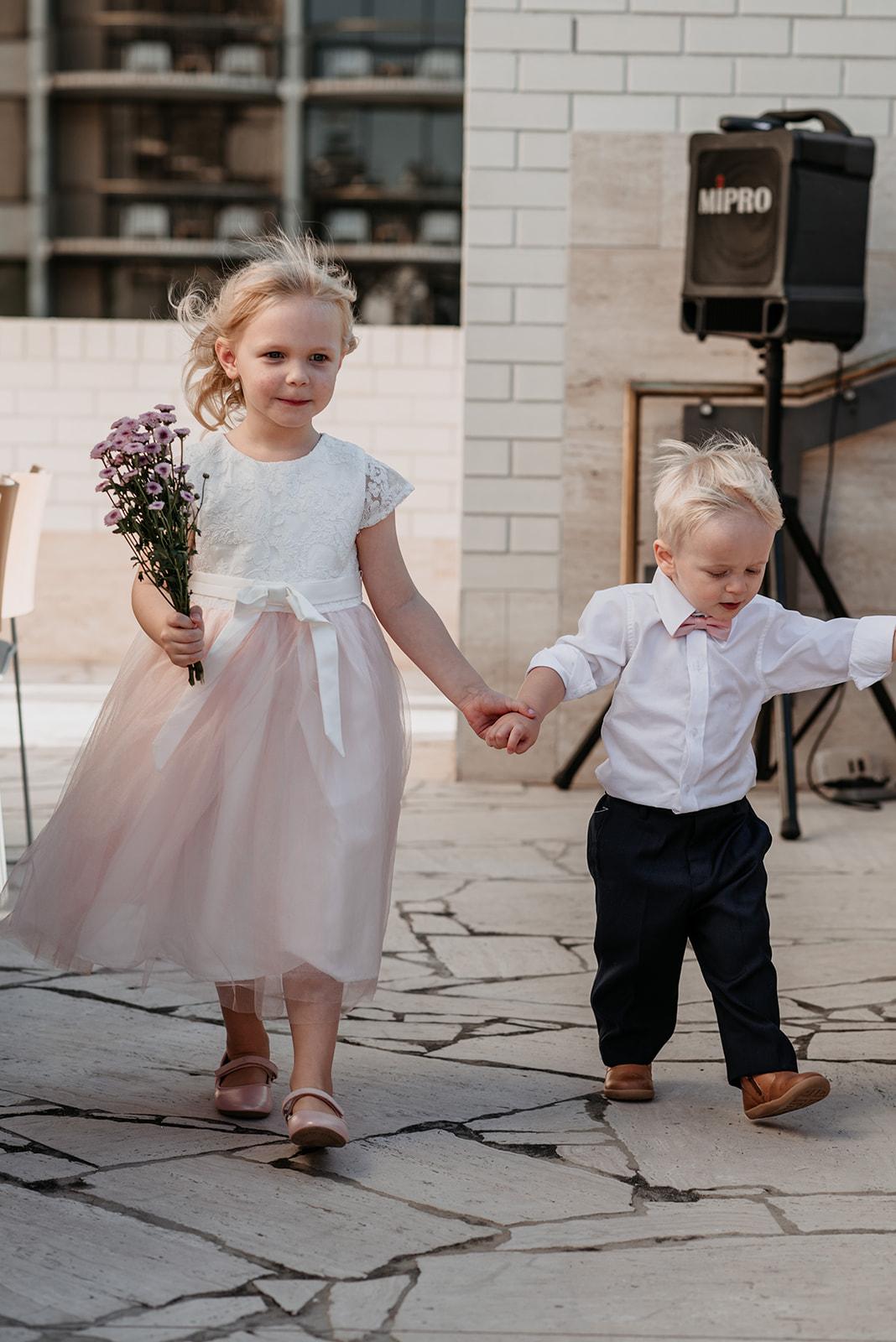 Calile Hotel wedding ceremony