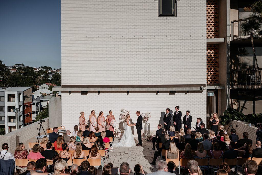 Calile Hotel wedding Celebrant