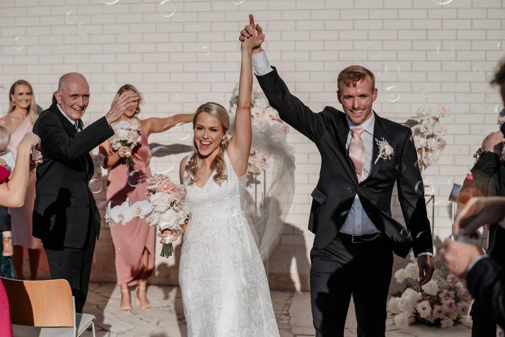postponed wedding ceremony