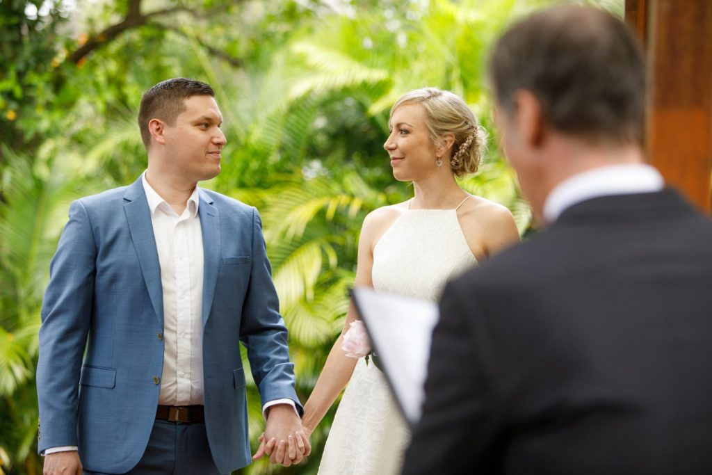 Legals only wedding ceremony Brisbane