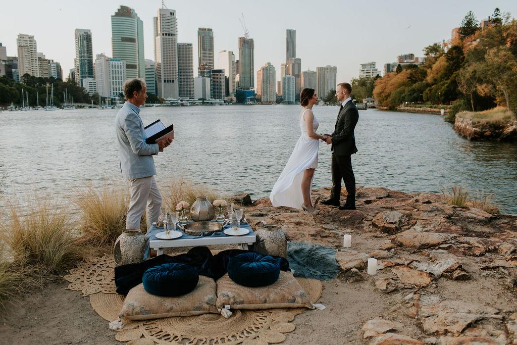 elopement wedding Celebrant Brisbane