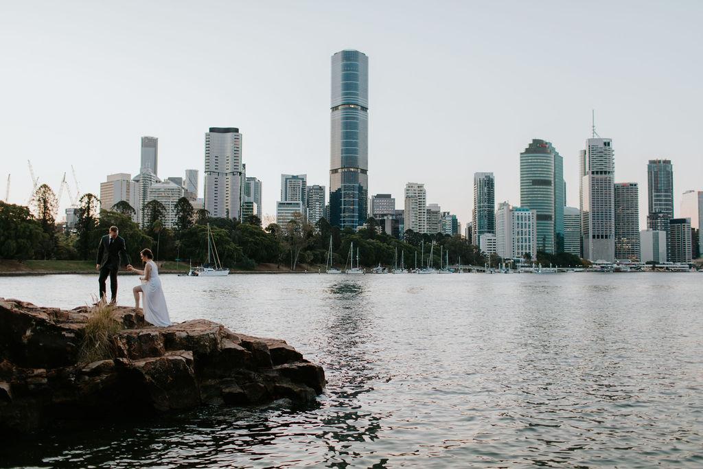 Brisbane City Elopement
